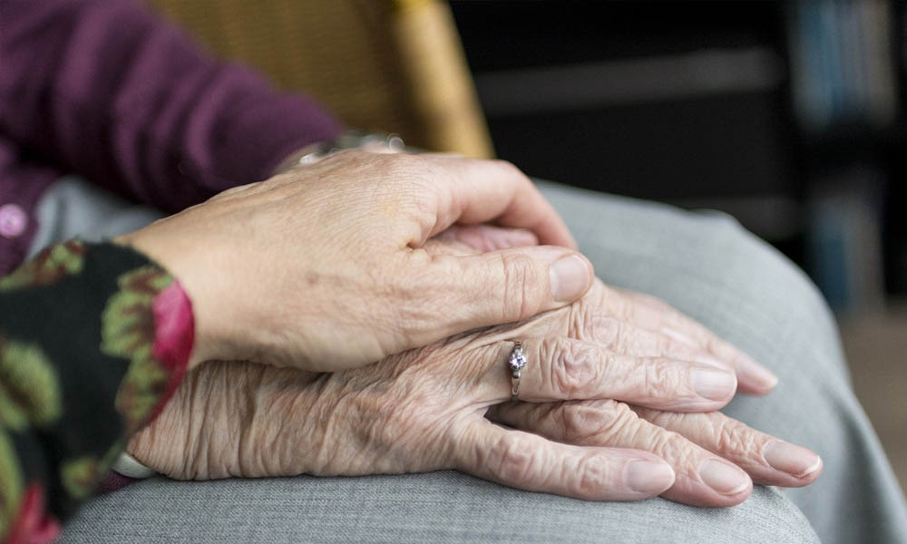 Aging Solutions - Elderly Hands