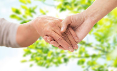 Holding Hands - Aging Solutions